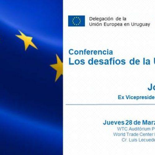 """Conferencia """"Los desafíos de la Unión Europea"""""""