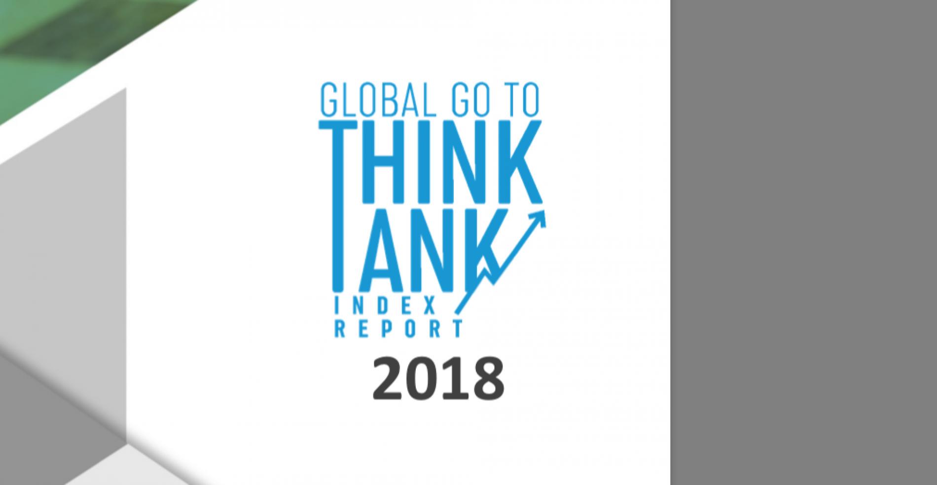 Puesto 18 en el Global Think Tanks Index