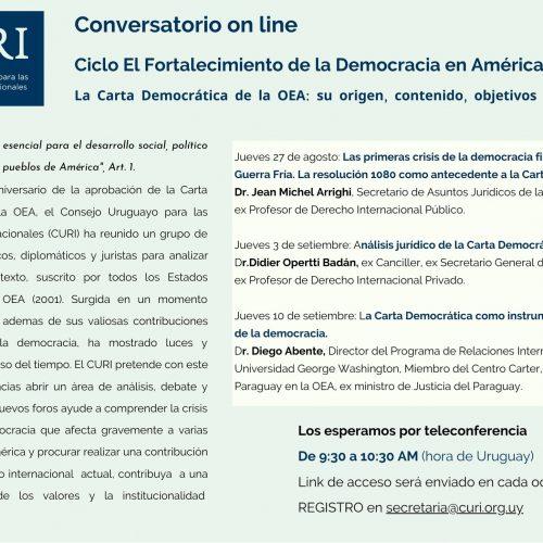 Ciclo El Fortalecimiento de la Democracia en América Latina