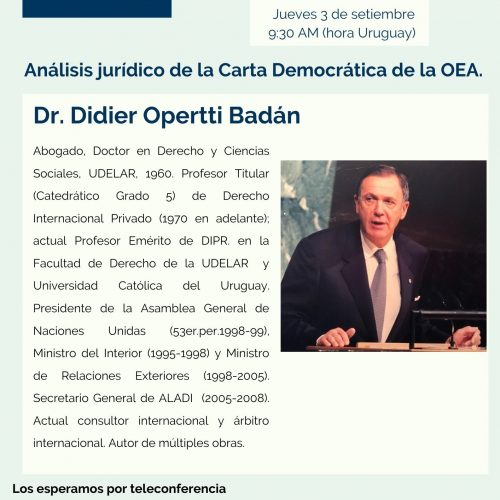 CURI ONLINE con Dr. Didier Opertti