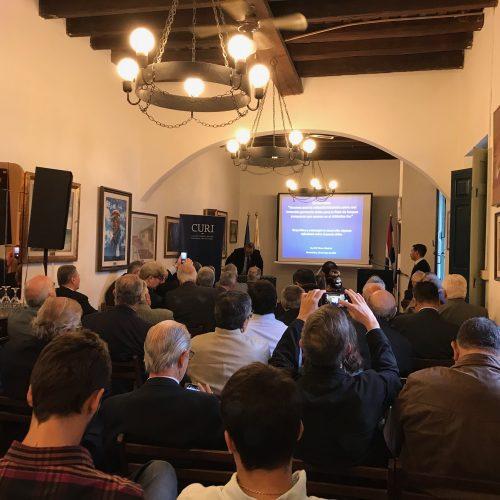 """Conferencia: """"Insumos para la reflexión/decisión sobre una inversión portuaria china para la flota de buques pesqueros que operan en el Atlántico Sur"""""""