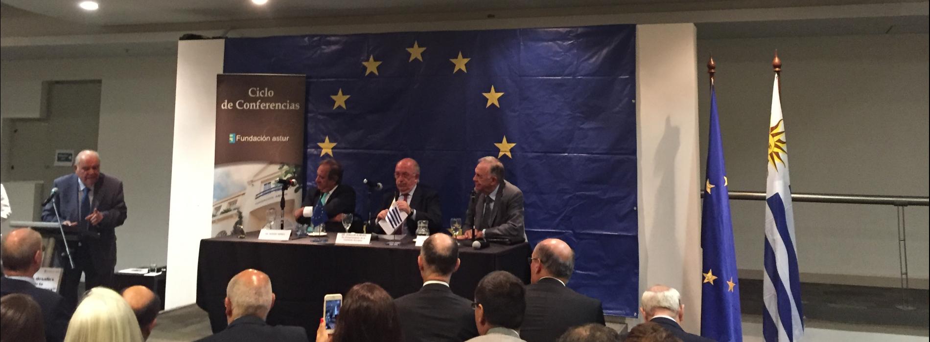 """Presidente del CURI participa de la conferencia """"Los desafíos de la Unión Europea"""""""