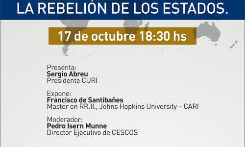 Conferencia: Crisis de las democracias liberales: La rebelión de los Estados
