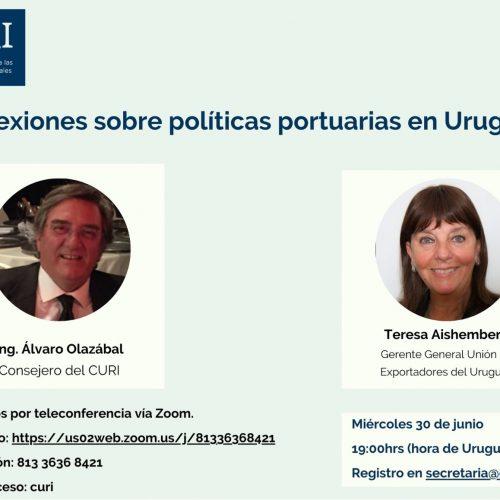 Reflexiones sobre políticas portuarias en Uruguay